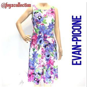 Evan-Picone floral dress 5-13